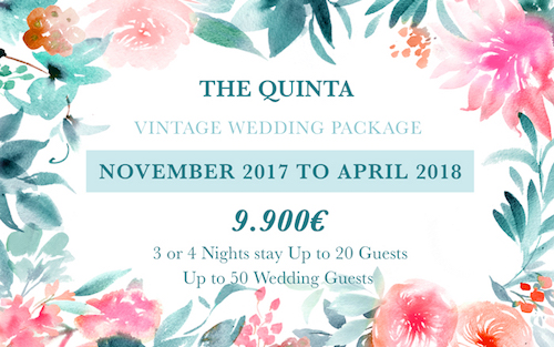 My Vintage Wedding Portugal Wedding Package