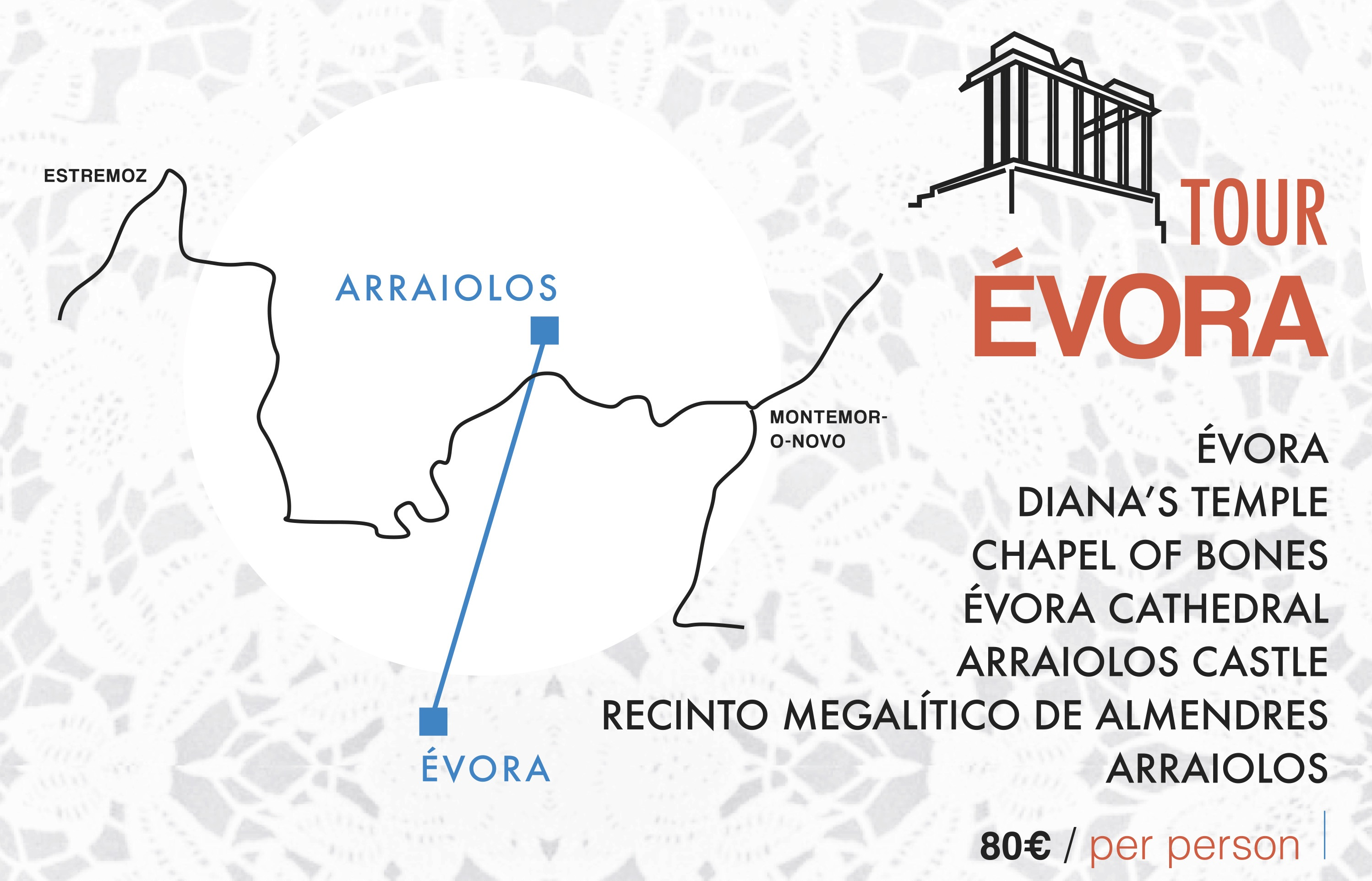 tour evora wedding in portugal