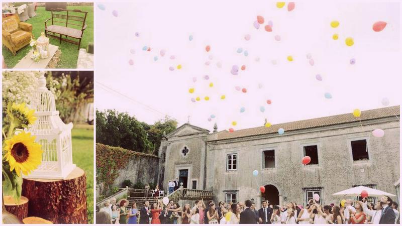 my vintage wedding portugal the quinta cocktail