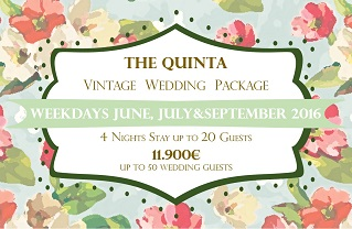 the quinta my vintage wedding in portugal june october wedding package 2016