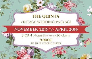 the quinta my vintage wedding in portugal low season wedding package 2016