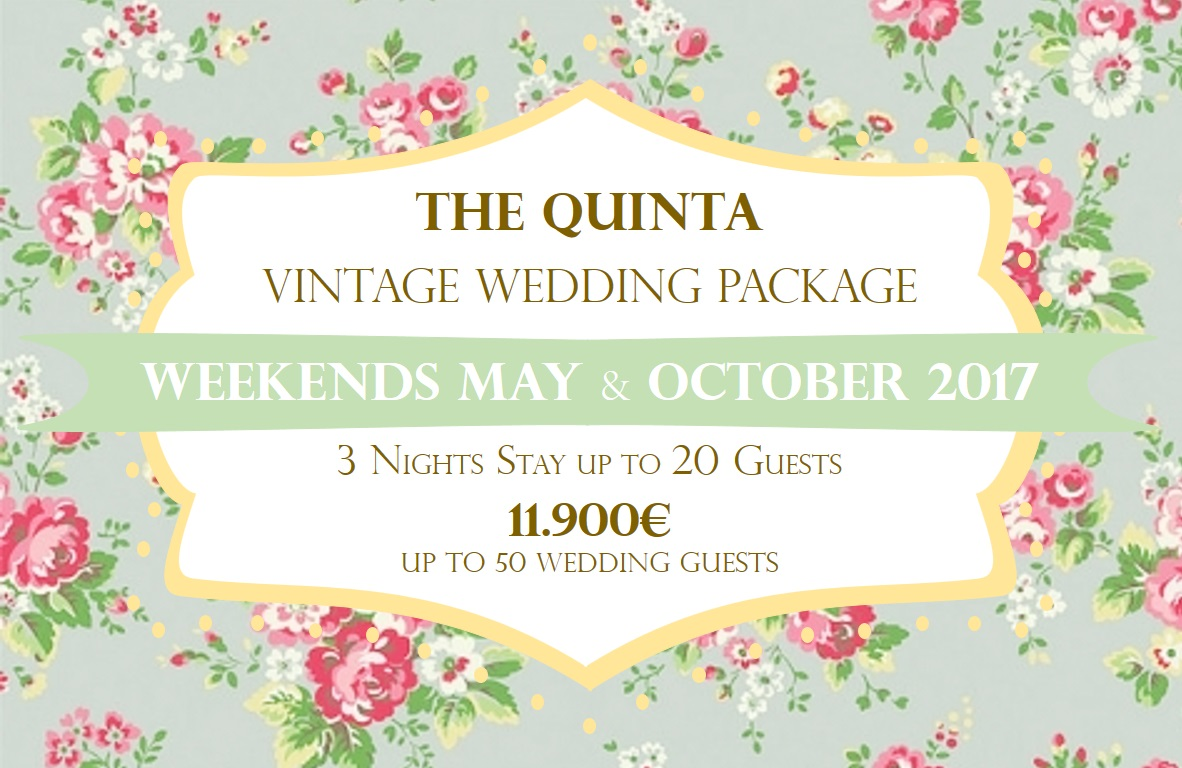 the quinta my vintage wedding in portugal may october weekends wedding package