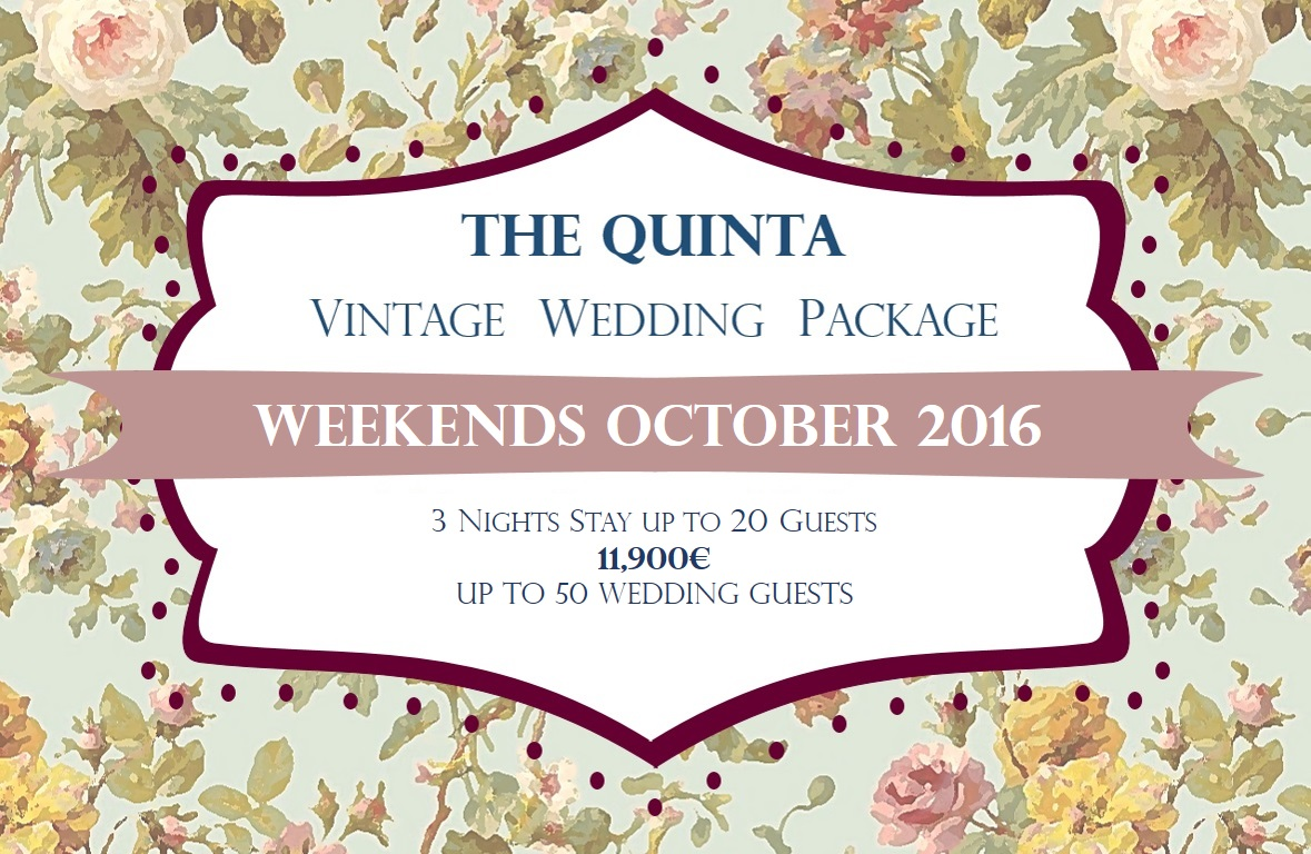 the quinta my vintage wedding in portugal october wedding package 2016