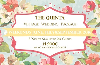 the quinta my vintage wedding in portugal weekends june october wedding package